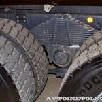 Самосвал МультиТрак на шасси IVECO Trakker 8x4 на тест-драйве нового IVECO Trakker полигон НАМИ 2014 - 3