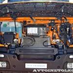 Самосвал МультиТрак на шасси IVECO Trakker 8x4 на тест-драйве нового IVECO Trakker полигон НАМИ 2014 - 7