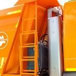 Самосвал МультиТрак на шасси IVECO Trakker 8x4 на тест-драйве нового IVECO Trakker полигон НАМИ 2014 - 8