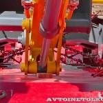полуприцеп-тяжеловоз Политранс ТСП 94163-0000050 комплектация 65S на тест-драйве нового IVECO Trakker полигон НАМИ 2014 - 3