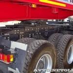 Седельный тягач IVECO-АМТ 633910 на тест-драйве нового IVECO Trakker полигон НАМИ 2014 - 7