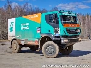 Участник ралли Париж-Дакар IVECO Trakker 4x4 на тест-драйве нового IVECO Trakker полигон НАМИ 2014 - 33