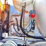 Автобетоносмеситель Tigarbo на шасси IVECO Trakker 8x4 на тест-драйве нового IVECO Trakker полигон НАМИ 2014 - 5