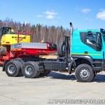 Седельный тягач IVECO-АМТ 633910 на тест-драйве нового IVECO Trakker полигон НАМИ 2014 - 9