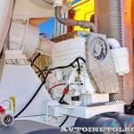 Автобетоносмеситель Tigarbo на шасси IVECO Trakker 8x4 на тест-драйве нового IVECO Trakker полигон НАМИ 2014 - 9