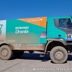 Участник ралли Париж-Дакар IVECO Trakker 4x4 на тест-драйве нового IVECO Trakker полигон НАМИ 2014 - 38