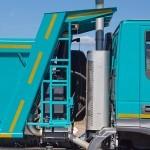 Самосвал IVECO-АМТ 653900 на тест-драйве нового IVECO Trakker полигон НАМИ 2014 - 10