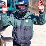 Участник ралли Париж-Дакар IVECO Trakker 4x4 на тест-драйве нового IVECO Trakker полигон НАМИ 2014 - 6