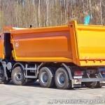 Самосвал МультиТрак на шасси IVECO Trakker 8x4 на тест-драйве нового IVECO Trakker полигон НАМИ 2014 - 12