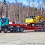 Седельный тягач IVECO-АМТ 633910 на тест-драйве нового IVECO Trakker полигон НАМИ 2014 - 12