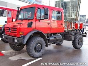 Mercedes-Benz Unimog U-4000 на стенде Лесхозмаш на выставке Пожарная безопасность 2014 - 8