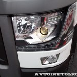 Магистральный седельный тягач Renault T460 с полуприцепом-шторником Schmitz Cargobullна презентации R-EVOLUTION 2014 - 4