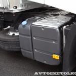 Магистральный седельный тягач Renault T460 с полуприцепом-шторником Schmitz Cargobullна презентации R-EVOLUTION 2014 - 6