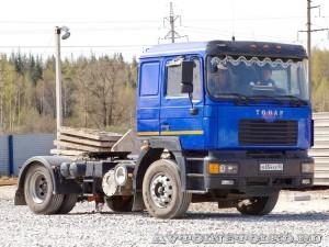 седельный тягач Тонар-5422 с системой автоматических цепей Insta-Chain - 1