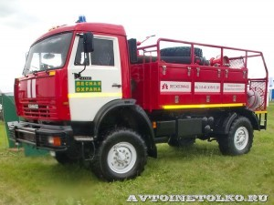 лесопожарная автоцистера АЦ 3,0-40 (43501) ВЛ Лесхозмаш на форуме ТВМ 2012 - 9