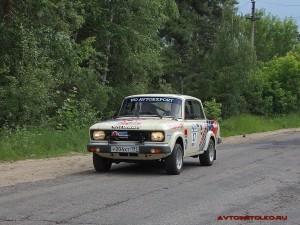 Москвич 1600SL Ралли на ралли Bosch Moskau Klassik 2014