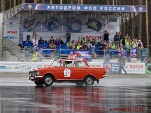 Москвич 412 на ралли Bosch Moskau Klassik 2014