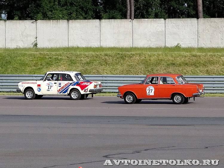 Москвич 1600SL Ралли и Москвич 412 на ралли Bosch Moskau Klassik 2014