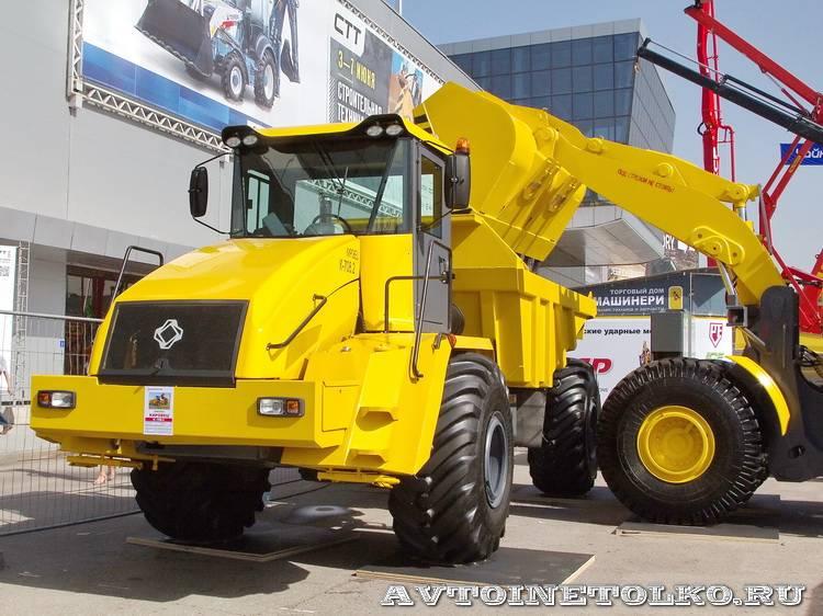 Петербургский тракторный завод на выставке СТТ-2014