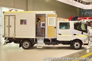 Hino-300 crew cab ПАРМ Рускомтранс на выставке СТТ 2014 - 1