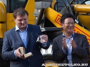выставка-презентация строительной техники SDLG на СТТ-2014 - 15