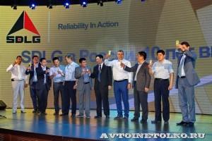 выставка-презентация строительной техники SDLG на СТТ-2014 - 18