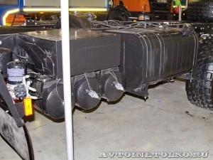 Полноприводное шасси КрАЗ 7634НЕ (Н27.3ЕХ) на выставке СТТ 2014 - 6