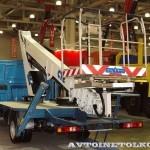 АГП-18Т CTE на ГАЗель NEXT Рускомтранс на выставке СТТ 2014 - 2