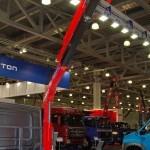 ГАЗель NEXT двойная кабина борт с КМУ Maxilift ML 150.3 Рускомтранс на выставке СТТ 2014 - 2