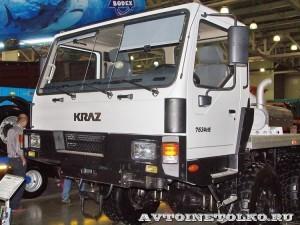 Полноприводное шасси КрАЗ 7634НЕ (Н27.3ЕХ) на выставке СТТ 2014 - 9