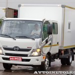 Hino-300 crew cab ПАРМ Рускомтранс на выставке СТТ 2014 - 3