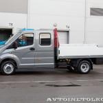 ГАЗель NEXT двойная кабина борт с КМУ Maxilift ML 150.3 Рускомтранс на выставке СТТ 2014 - 4