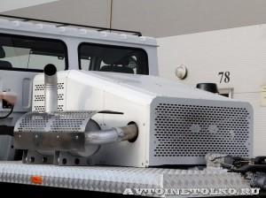 Полноприводное шасси КрАЗ 7634НЕ (Н27.3ЕХ) на выставке СТТ 2014 - 14