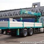 Ford Cargo 2532 6х2 с КМУ HKTC HLC-7016 Рускомтранс на выставке СТТ 2014 - 7