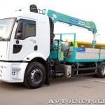 Ford Cargo 2532 6х2 с КМУ HKTC HLC-7016 Рускомтранс на выставке СТТ 2014 - 3