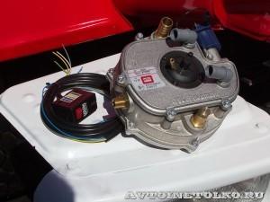 пожарная автоцистерна АЦ-2-5-40 с газовым двигателем на салоне Комплексная Безопасность 2014 - 1