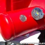 пожарная автоцистерна АЦ-2-5-40 с газовым двигателем на салоне Комплексная Безопасность 2014 - 2