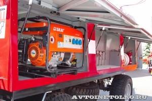 Пожарный прицеп ПЦ-3-5 на салоне Комплексная Безопасность 2014 - 2
