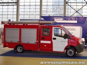 пожарный автомобиль первой помощи ГАЗель NEXT СпецАвтоТехника на салоне Комплексная Безопасность 2014 - 1