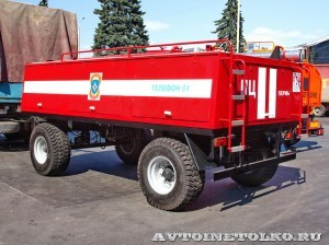 Пожарный прицеп ПЦ-3-5 на салоне Комплексная Безопасность 2014 - 4