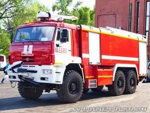 Аэродромный пожарный автомобиль АА-8,0-90/6 на шасси КамАЗ-65224 Спецтехника Пожаротушения на салоне Комплексная Безопасность 2014 - 1