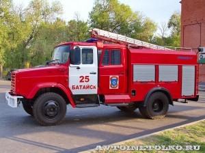 пожарная автоцистерна АЦ-2-5-40 с газовым двигателем на салоне Комплексная Безопасность 2014 - 6