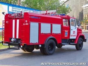 пожарная автоцистерна АЦ-2-5-40 с газовым двигателем на салоне Комплексная Безопасность 2014 - 7
