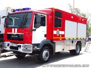 Насосно-рукавный автомобиль АНР-60-1400 Пеленг на салоне Комплексная Безопасность 2014 - 1
