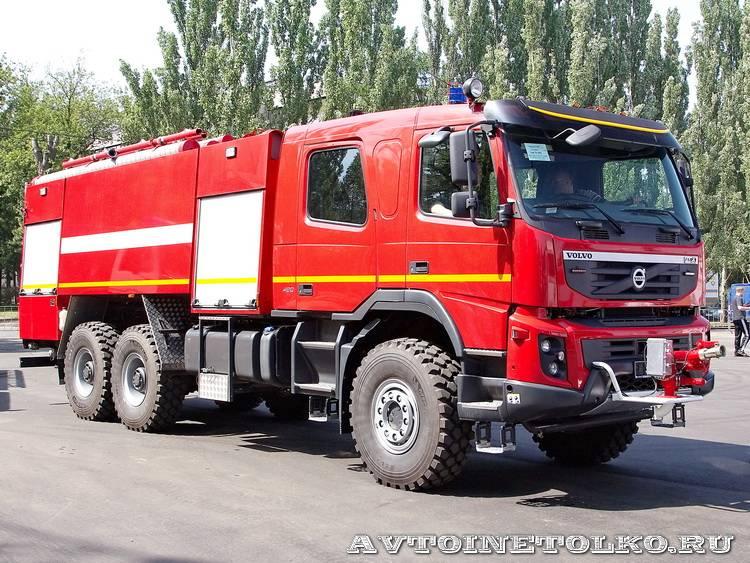 volvo аэродромный пожарный аа 9.0