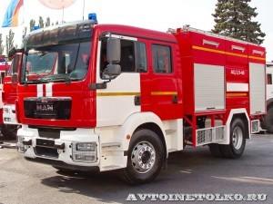 пожарная автоцистерна АЦ-3,5-40/4 Берег на салоне Комплексная Безопасность 2014 - 1