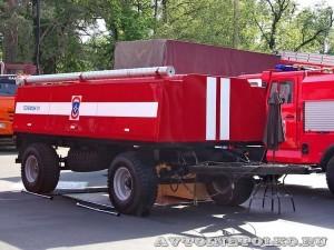 Пожарный прицеп ПЦ-3-5 на салоне Комплексная Безопасность 2014 - 8