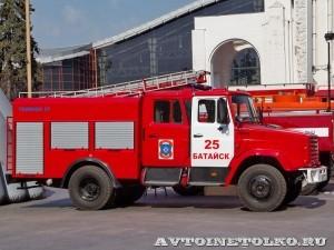 пожарная автоцистерна АЦ-2-5-40 с газовым двигателем на салоне Комплексная Безопасность 2014 - 8
