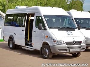 Mercedes-Benz Sprinter Classic корпоративный автобус Луидор тест-драйв в Крылатском май 2014 - 1