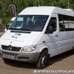 Mercedes-Benz Sprinter Classic корпоративный автобус Луидор тест-драйв в Крылатском май 2014 - 2